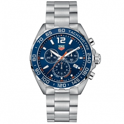 Picture of TAG Heuer Formula 1 Quartz Steel Watch with Blue Dial