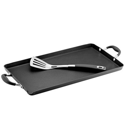 Picture of Anolon® Double Burner Griddle with Stainless Steel Turner