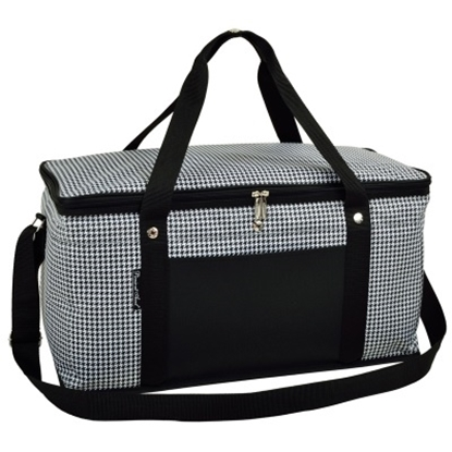 Picture of Picnic at Ascot Folding 72-Can Cooler - Houndstooth