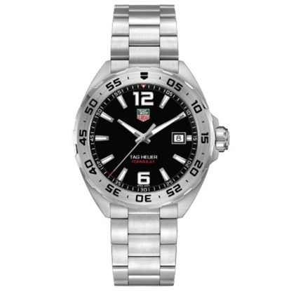 Picture of TAG Heuer Formula 1 Steel Bracelet with Black Dial