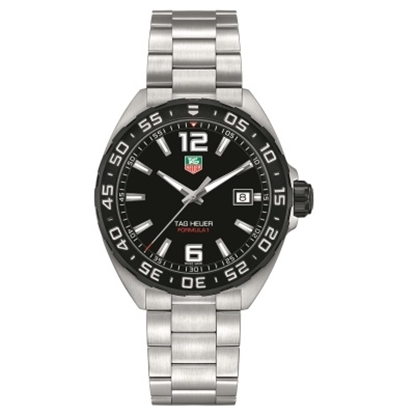 Picture of TAG Heuer Formula1 Stainless Steel Watch with Black Dial