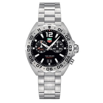 Picture of TAG Heuer Formula 1 Stainless Steel Watch with Black Dial