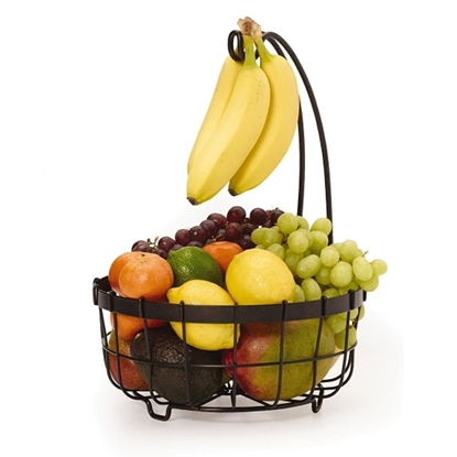 Picture of Mikasa Gourmet Basics General Store Basket with Banana Hook
