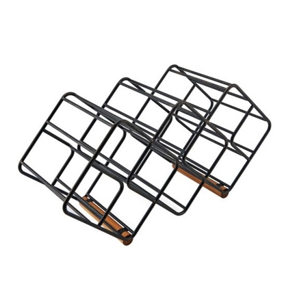 Picture of Mikasa Gourmet Basics 12-Bottle Wine Storage Rack - Stackable
