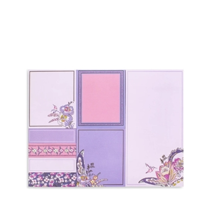 Picture of Vera Bradley Sticky Note Set with Pen - Hummingbird Park