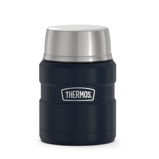 Picture of Thermos 16oz. Stainless Steel Food Jar w/ Spoon- Midnight Blue