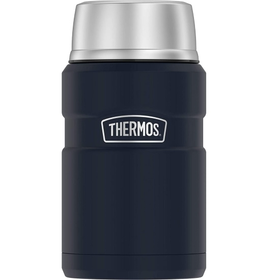 Picture of Thermos 24oz. Stainless Steel Food Jar - Matte Midnight Blue