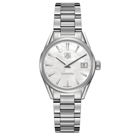 Picture of TAG 32mm Stainless Steel Quartz Watch with MOP Dial