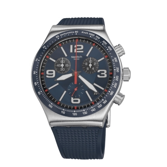 Picture of Swatch BLUE GRID I New Chrono Watch