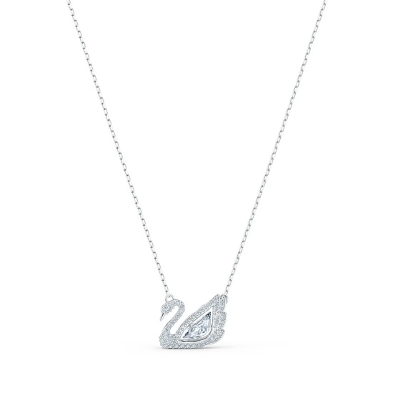 Picture of Swarovski Dancing Swan Necklace
