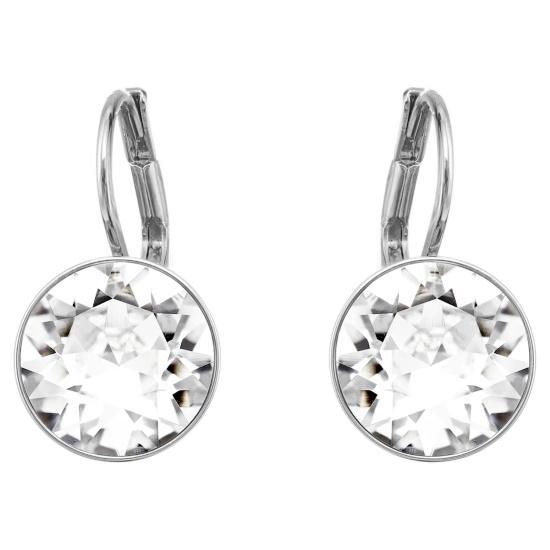 Picture of Swarovski Bella Pierced Earrings - Crystal/Rhodium