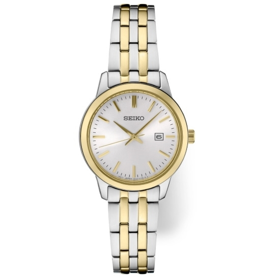 Picture of Seiko Ladies' Essential Two-Tone Watch with White Dial