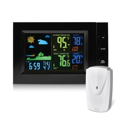 Picture of RCA Wireless Weather Station w/ Color Display & Outdoor Sensor