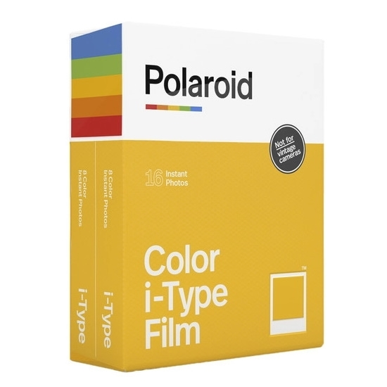 Picture of Polaroid Film Double Pack for i-Type Cameras - Two Colors