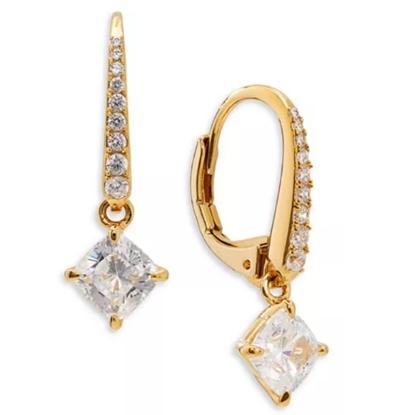 Picture of Nadri Colette Drop Earrings - Gold