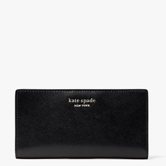 Picture of Kate Spade Spencer Slim Bifold Wallet - Black