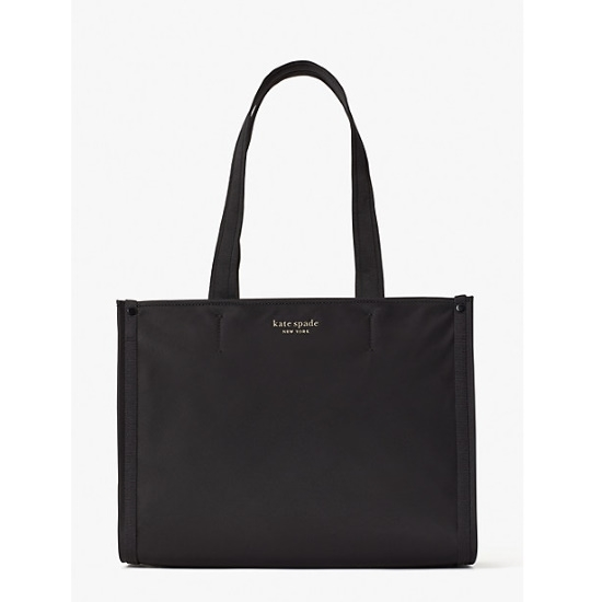 Picture of Kate Spade New Nylon Medium Tote - Black