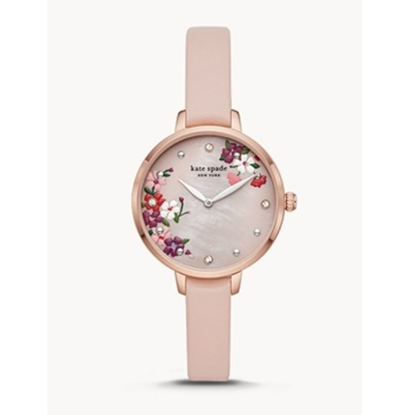 Picture of Kate Spade Metro Three-Hand Leather Watch