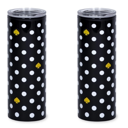 Picture of Kate Spade Set of 2 Thermal Mugs - Polka Dots