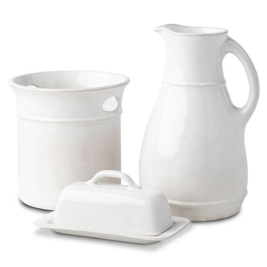 Picture of Juliska Puro Whitewash 3-Piece Essential Accessories Set