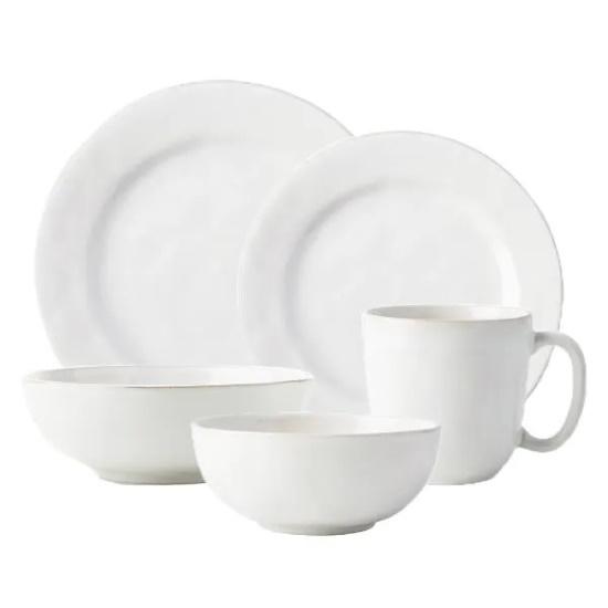 Picture of Juliska Puro Whitewash 20-Piece Essential Dinnerware Set