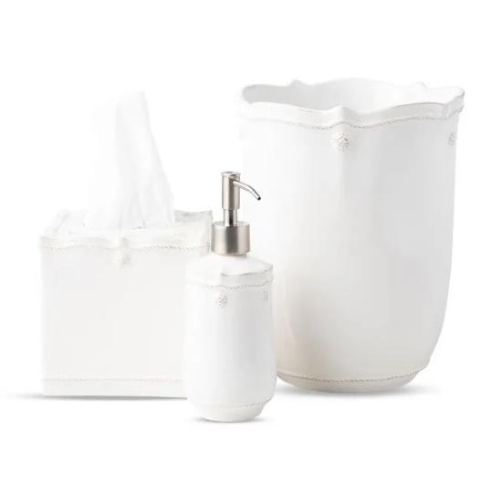 Picture of Juliska Berry & Thread Whitewash 3-Piece Bath Essentials Set