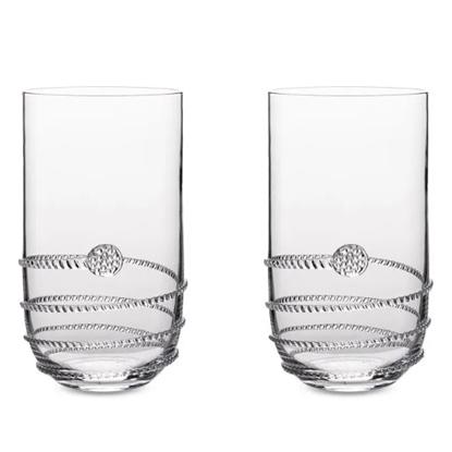 Picture of Juliska Amalia Heritage Highball Glasses - Set of 4