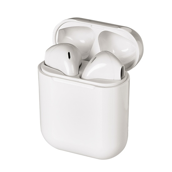 Picture of Jense True Wireless Earbuds with Charging Case - White