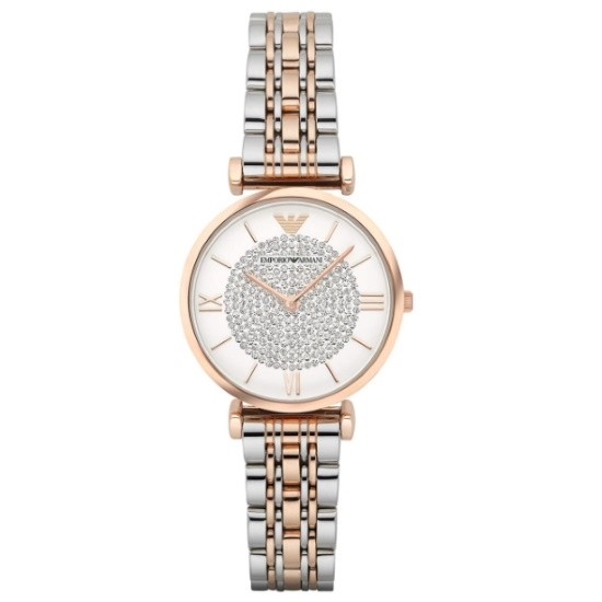 Picture of Emporio Armani Women's Two-Hand Two-Tone Stainless Steel Watch