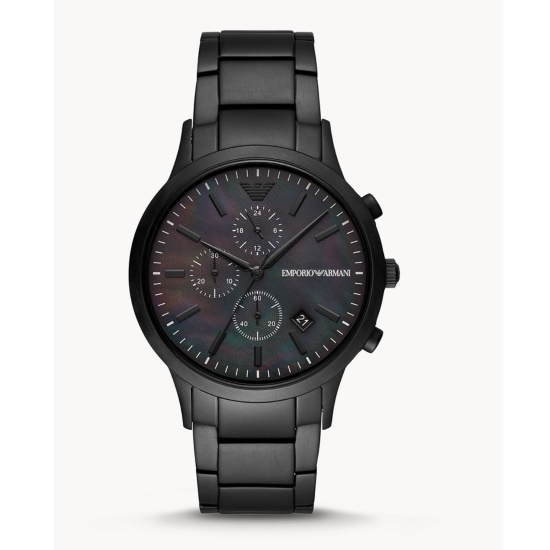 Picture of Emporio Armani Chronograph Black Stainless Steel Watch