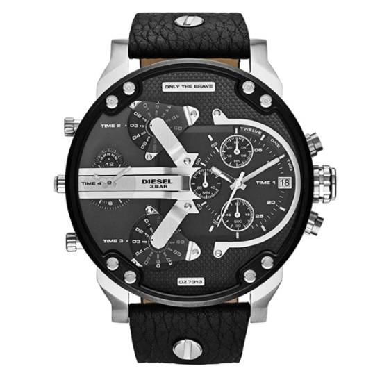 Picture of Diesel Mr. Daddy 2.0 Quartz Leather Multifunction Watch
