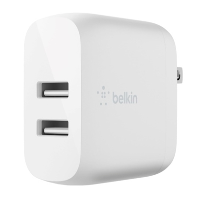 Picture of Belkin BOOST CHARGE Two-Port Home Charger