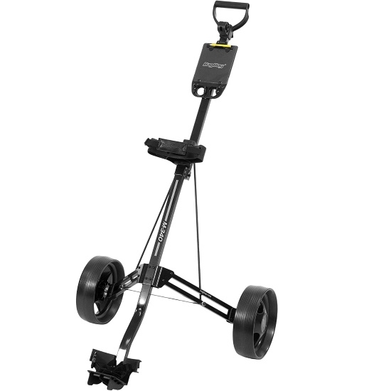 Picture of Bag Boy M-340 Push Cart - Black/Charcoal