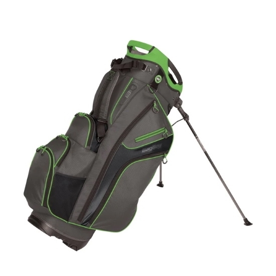 Picture of Bag Boy Chiller Hybrid Stand Bag - Charcoal/Lime/Black