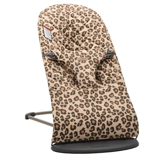 Picture of BabyBjorn Bouncer Bliss Cotton - Beige Leopard