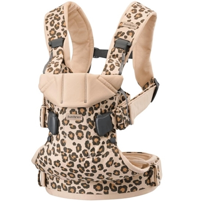 Picture of BabyBjorn Carrier One Cotton - Beige Leopard