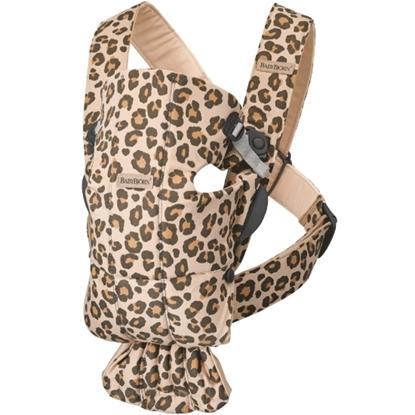 Picture of BabyBjorn Carrier Mini Cotton - Beige Leopard