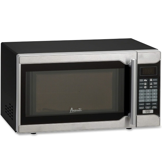 Picture of Avanti 0.7 cu. ft. 700 Watt Microwave Oven - Stainless Steel