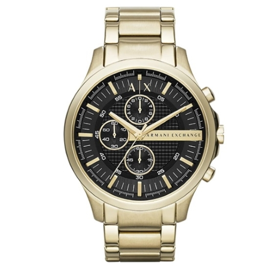 Picture of Armani Exchange Gold-Tone Stainless Steel Chronograph Watch