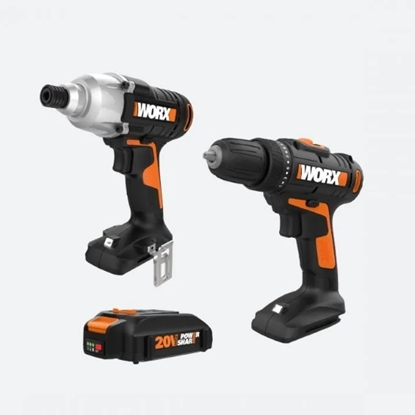 Picture of Worx 20V Two-Piece Drill/Driver Combo Kit