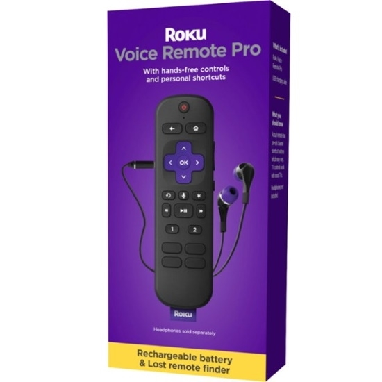 Picture of Roku Voice Remote Pro