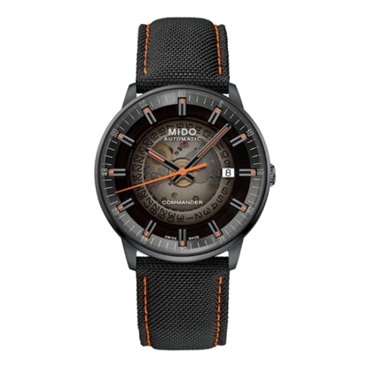 Picture of Mido Commander Gradient Watch with Black Dial