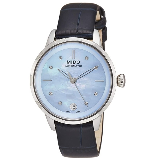 Picture of Mido Rainflower Watch with Blue MOP Dial