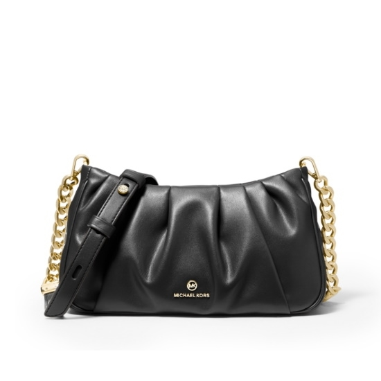 Picture of Michael Kors Hannah Small Convertible Clutch - Black