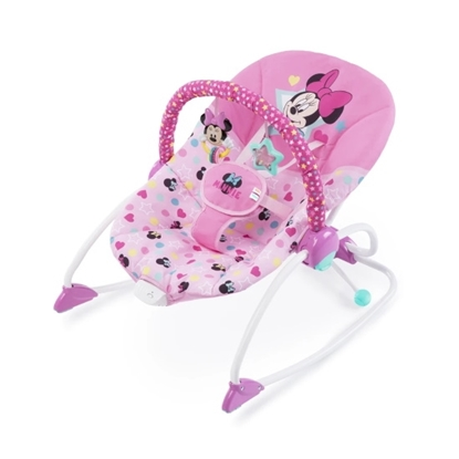 Picture of Kids2 Disney Baby Minnie Mouse Stars & Smiles Rocker