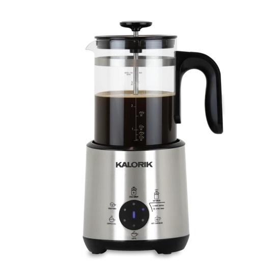 Picture of Kalorik Bartista 6-in-1 Beverage Maker with French Press