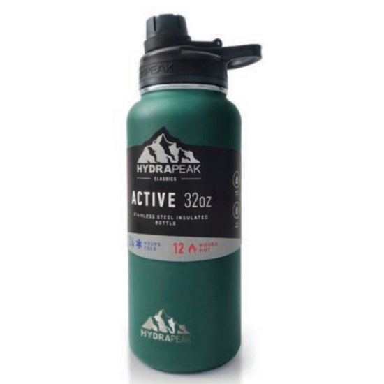 Picture of Hydrapeak 32 Active Chug Bottle - Forest