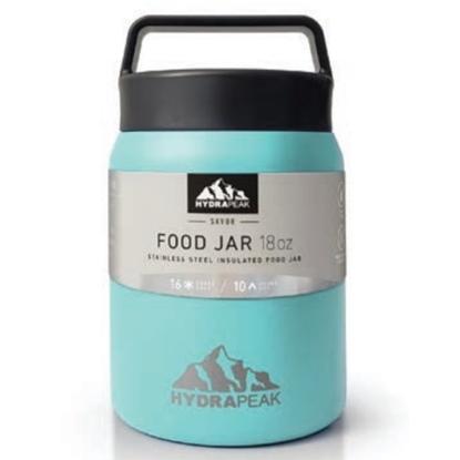 Picture of Hydrapeak 18oz. Double Wall Food Jar - Aqua