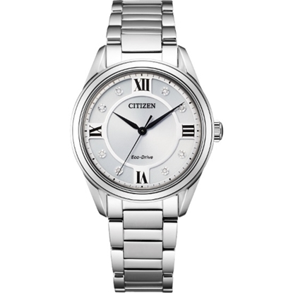 Picture of Citizen Ladies' Arezzo Stainless Steel Watch with Silver Dial