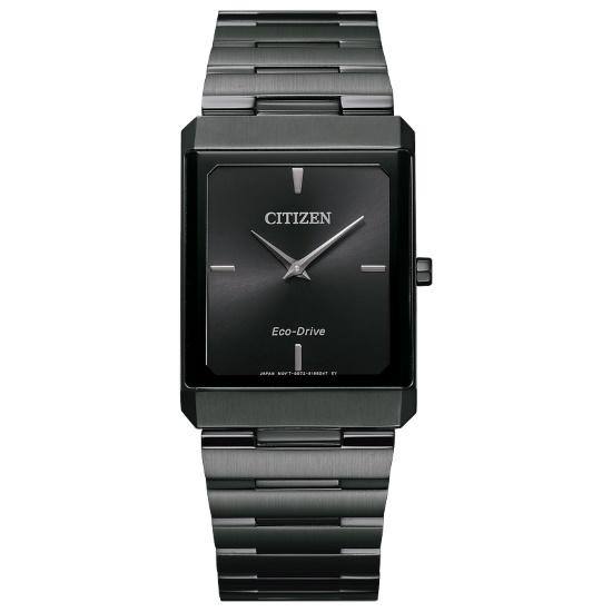 Picture of Citizen Eco-Drive Stiletto Black-Tone Watch with Square Dial